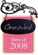 onewed Best of 2008 award