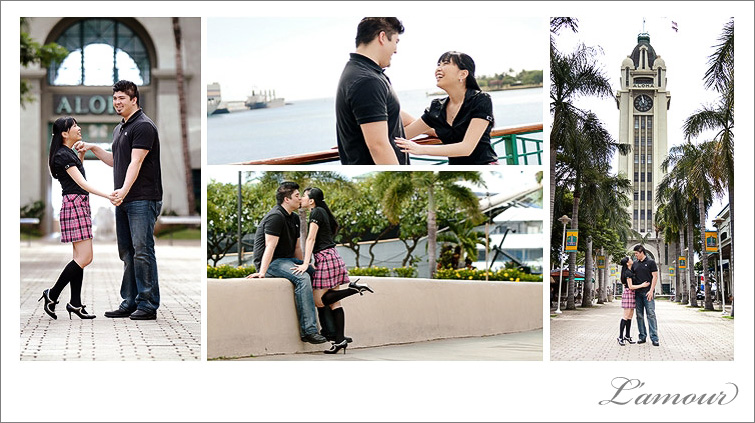 Oahu Engagement Photographer in Honolulu and Waikiki in Hawaii