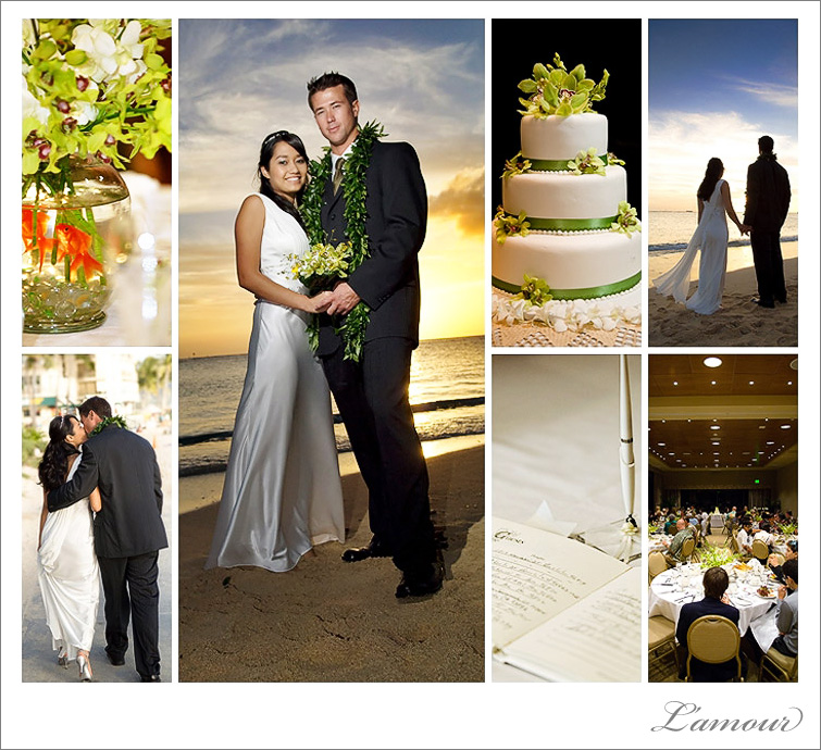 Military Wedding Photographer Oahu Hawaii at the Hale Koa Hotel Waikiki
