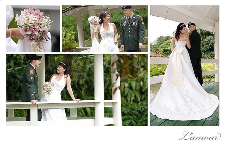Hawaii Wedding Photographer military destination wedding