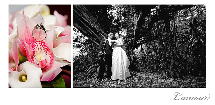 Photojournalistic style Wedding photography in Hawaii by L'amour Photography