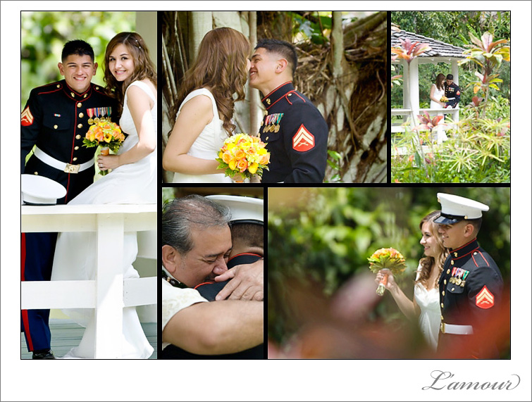 Hawaii Destination Wedding on Oahu by L'amour Photography
