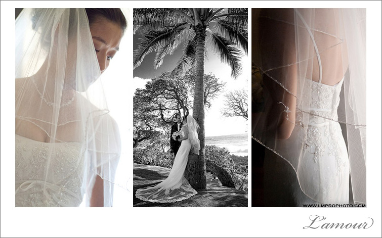 Best of OneWed Wedding Photographer in Hawaii on destination of Oahu by L'amour Husband and Wife Photography Team