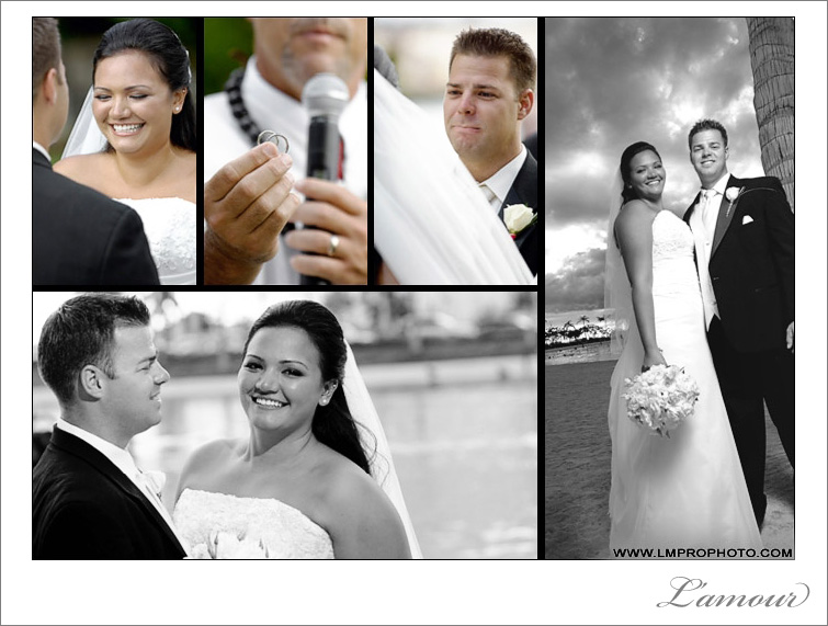 Hilton Hawaiian Village wedding on Oahu by L'amour Photography