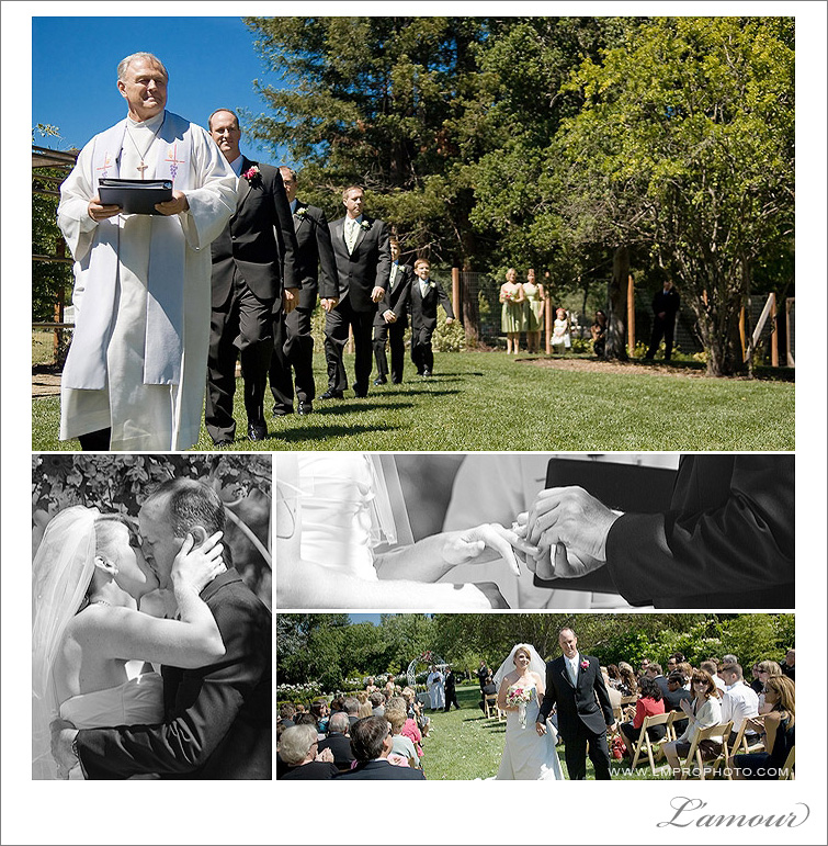 Wedding Ceremony at Northern California Vineyard