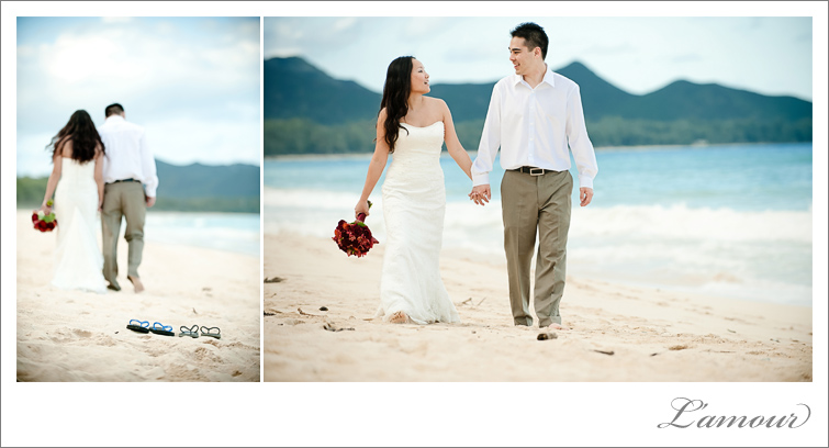 Hawaii beach wedding Instead of spending an hour or two doing portraits on