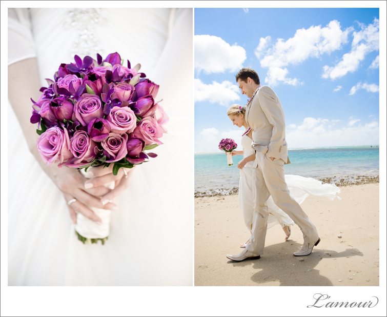 Hawaii wedding Photographers L'amour based in Honolulu on Oahu
