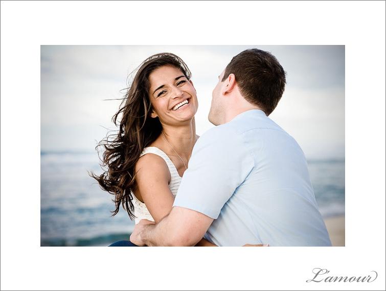 North Shore Oahu Engagement Portrait