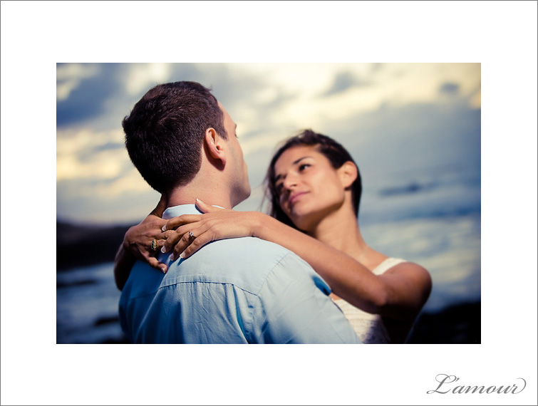 Engagement Ring photo photographed during an engagement session by L'Amour Photographers