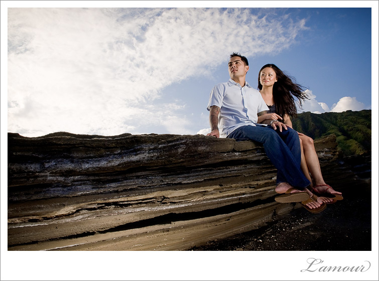 Hawaii Engagement Portrait