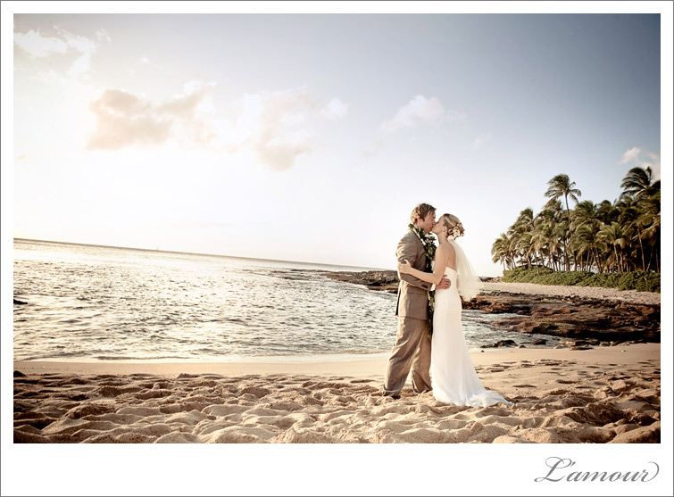 Hawaii Wedding Photographers at Ihilani Resort in Koolina Oahu