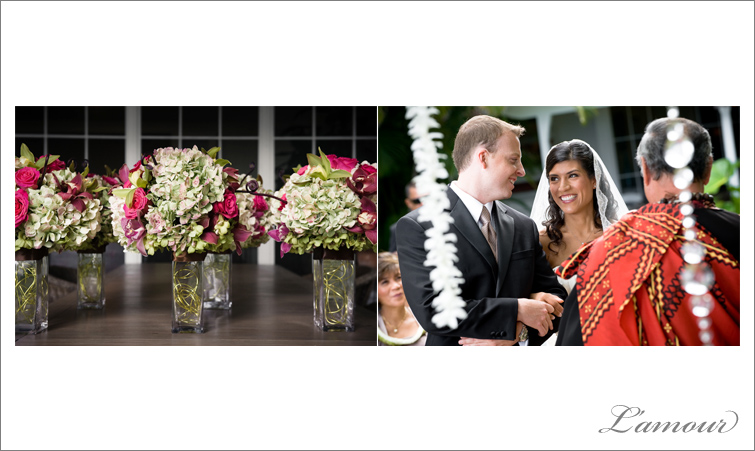 Wedding Ceremony and Flowers at Bayer Estate