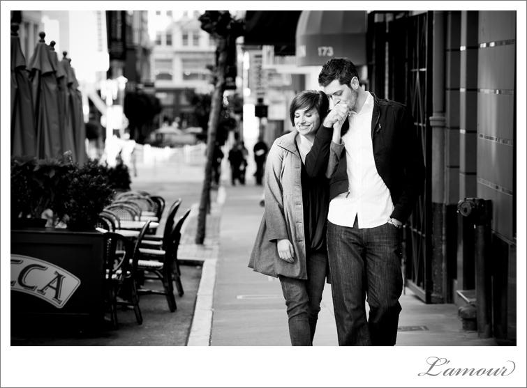 San francisco Bay Area Engagement Portrait