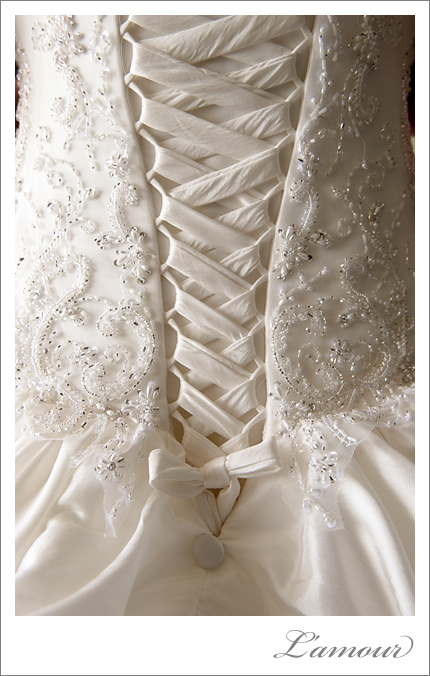 Corset of Destination Wedding Dress
