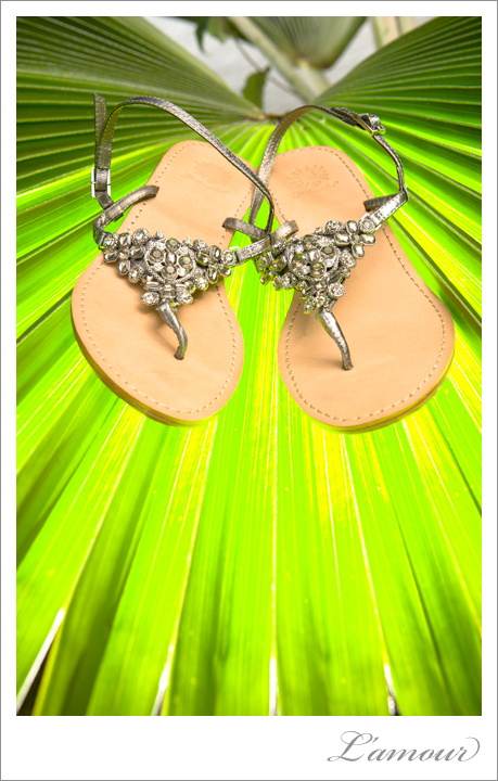 Destination Wedding Shoes for Hawaii Beach Wedding