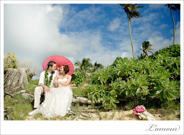 Oahu Wedding Photographers based in Honolulu L'Amour Photography