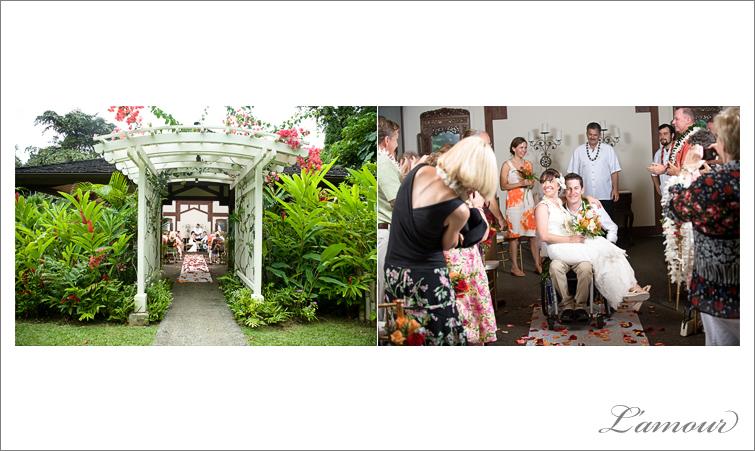 Hawaii Wedding Photographer in Oahu at Haiku Gardens