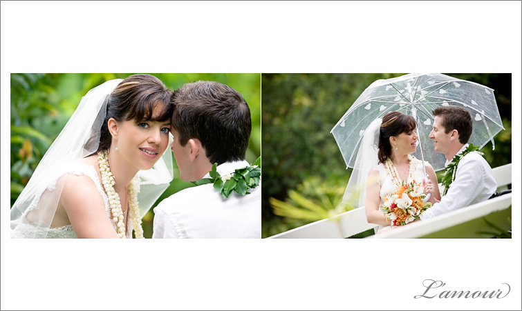 Oahu Wedding Photographer at Haiku Gardens
