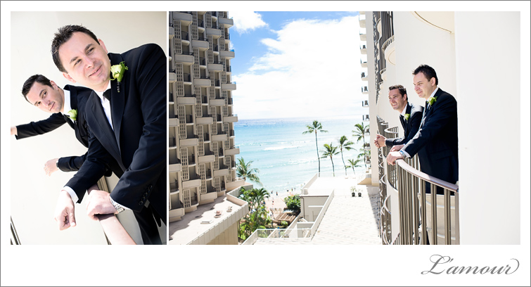 Hawaii Wedding Photography at the Outrigger Waikiki on Oahu