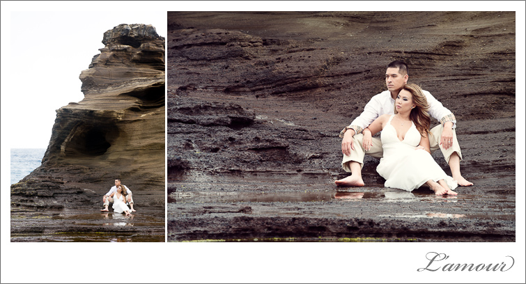 Hawaii Trash The Dress Session by Lamour Photography