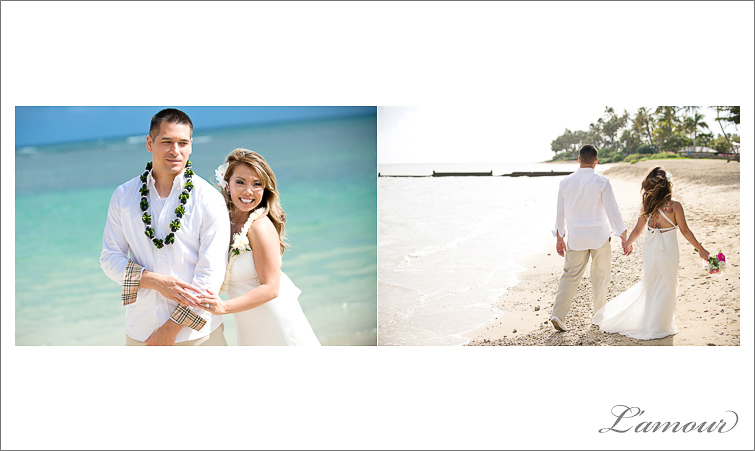 L'Amour Photography Hawaii Wedding Photographer