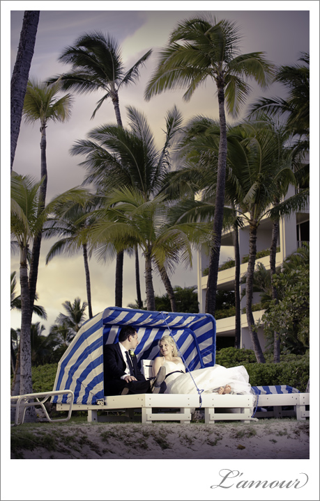 Ihilani Wedding photographer in Hawaii at the Marriot on Oahu