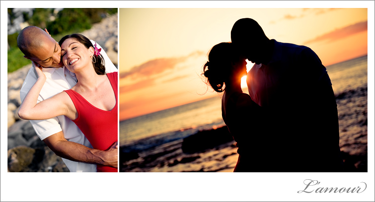 Hawaii Engagement Photographer at Ihilani in Oahu