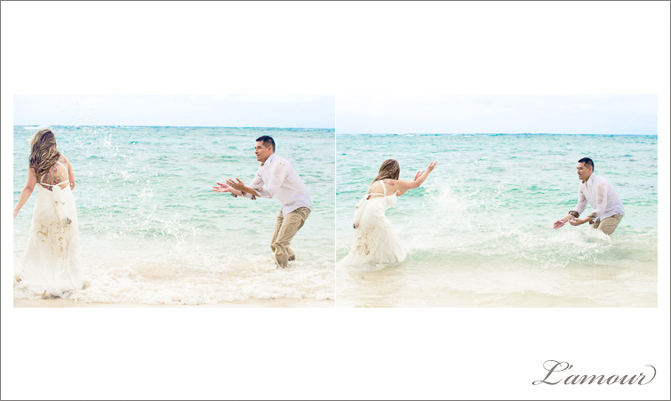 Hawaii Trash the Dress and Wedding Photographers in Oahu