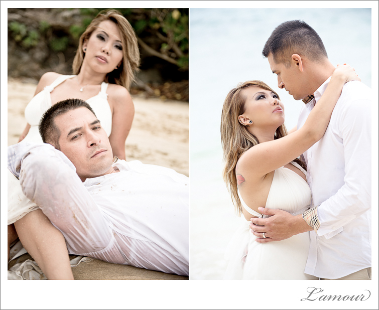 Trash the Dress Photos in Hawaii TTD