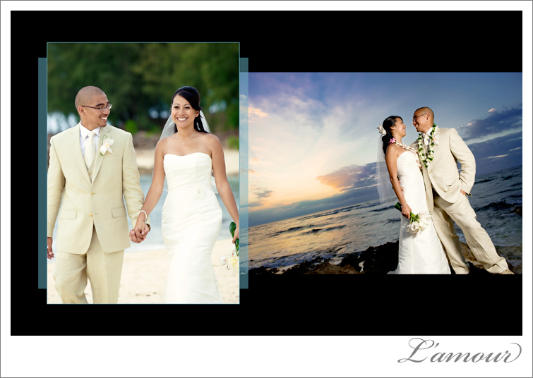 Oahu Wedding Photographer L'Amour Photography
