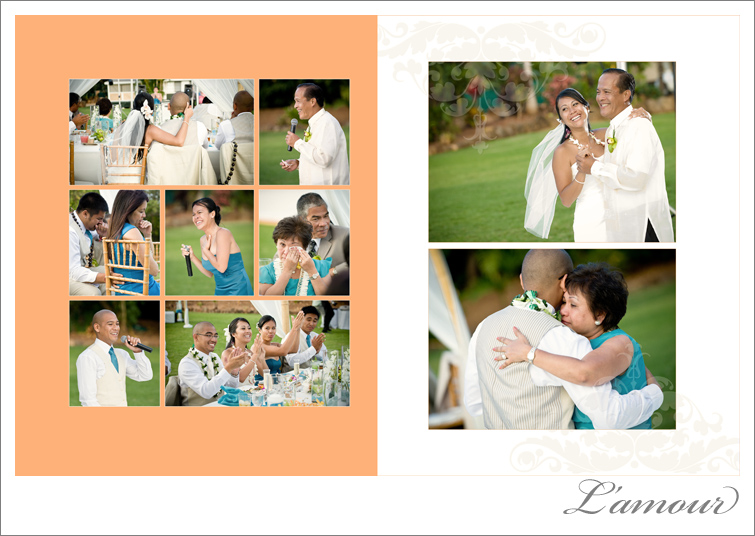 Oahu Wedding Beach ceremony and Reception