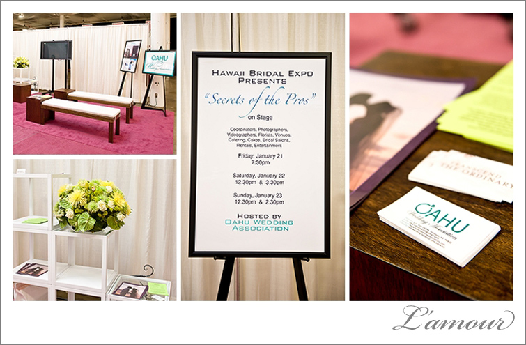 Oahu Wedding Association OWA Secrets of the Pros at the Hawaii Bridal Expo