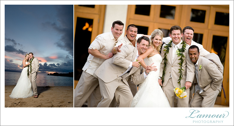 Sheraton Maui Wedding Photography by Lamour