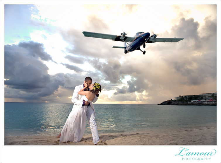 Hawaii Wedding Photography by Lamour Photographers taken in St Maarten and St Martin