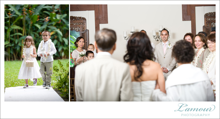 Hawaii Wedding Photography of Honolulu's L'Amour Photography