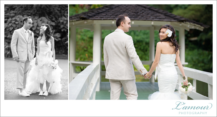 Oahu Wedding Photography of L'Amour's Hawaii Team