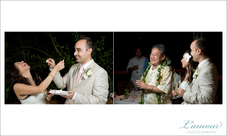 Hawaii Wedding Reception on Oahu