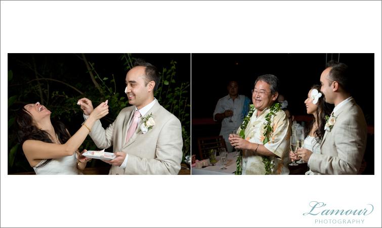 Hawaii Wedding Reception on Oahu