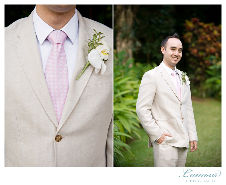 Oahu Wedding Photographers at Haiku Gardens