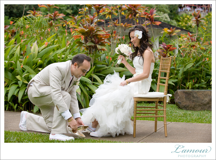 Oahu Wedding Photographers of L'Amour Photography