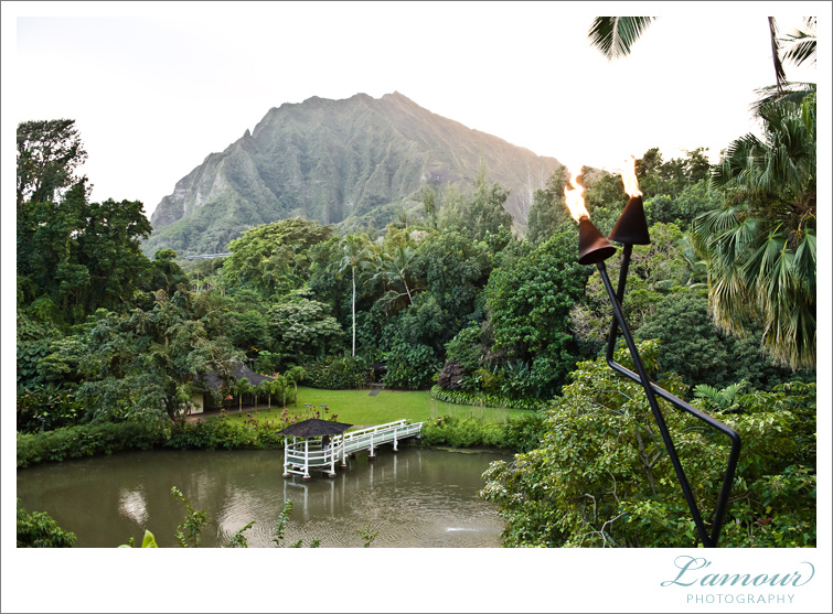 Hawaii Wedding Venue Haiku Gardens on Oahu