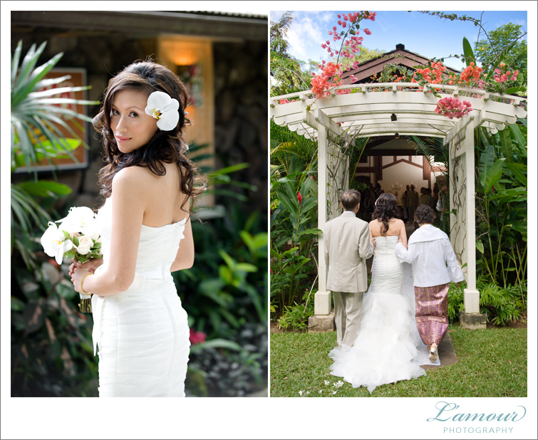 Oahu Hawaii Wedding Photographers of L'Amour Photography