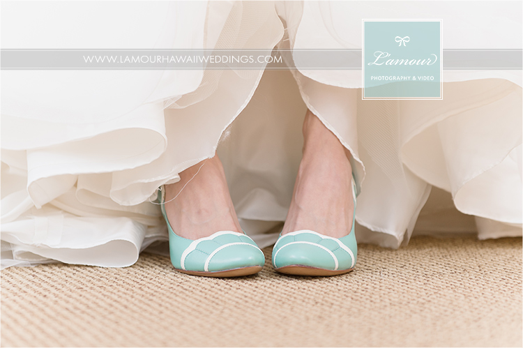 Lamour photography and video shoe photos in hawaii