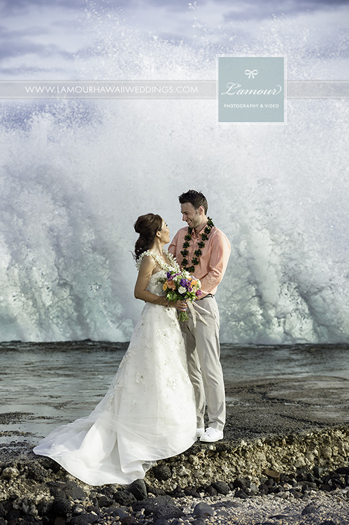 Wedding portrait on Maui