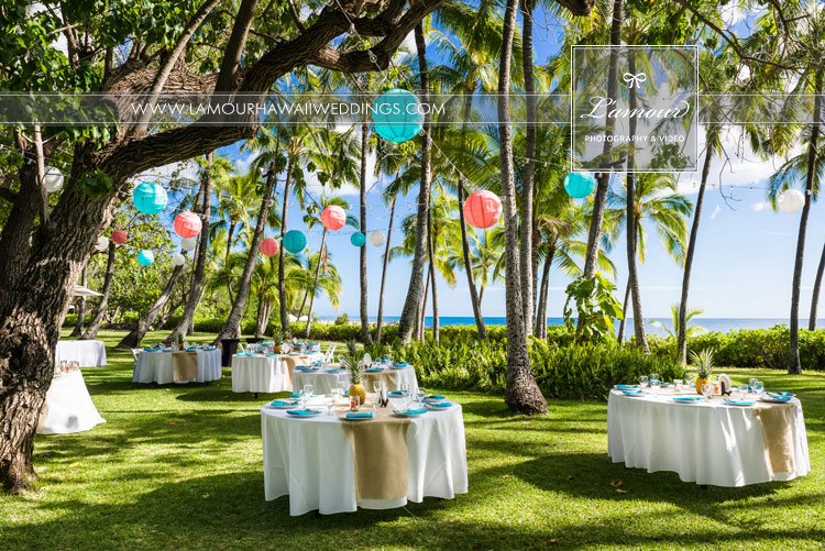 Hawaii Photography at Lanikuhonua Wedding
