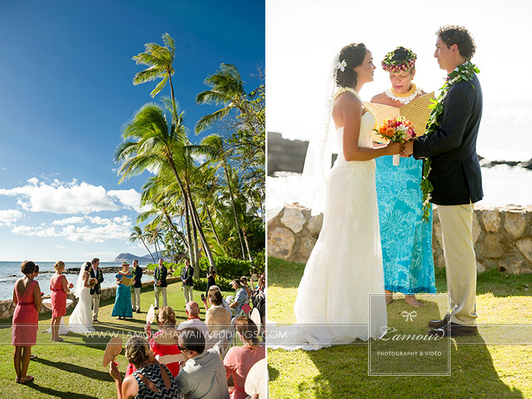 Lanikuhonua Wedding in Hawaii by Lamour