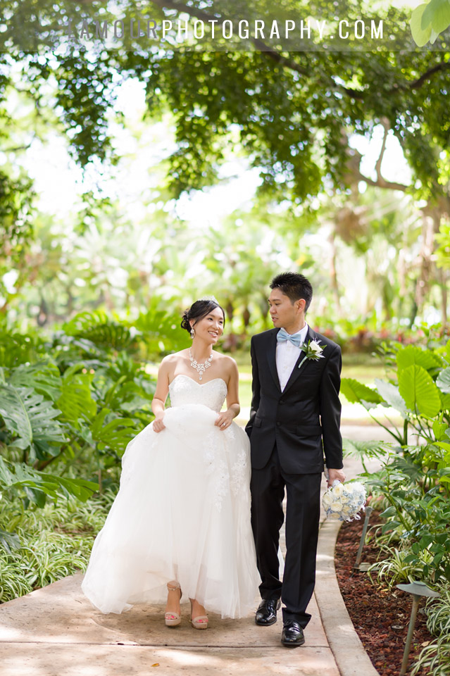 Hale Koa Hotel wedding in Waikiki Hawaii by L'Amour Photography and Video