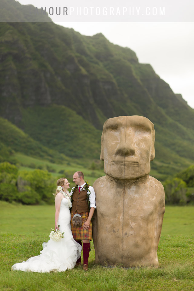 Get married where Jurassic Park was filmed in Hawaii