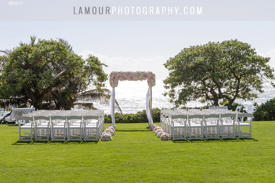 kuilima point at turtle bay hawaii wedding venue
