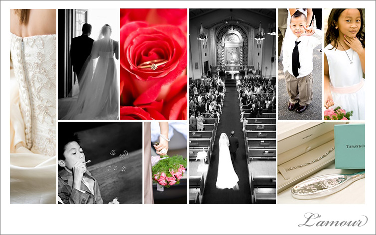 Wedding Photography collage from Oahu Destination Wedding Photographers Eric and Wendy Leslie Mansperger